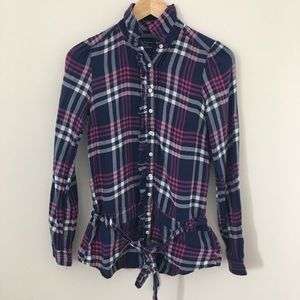 American Eagle Size 0 Long Sleeve Button Shirt